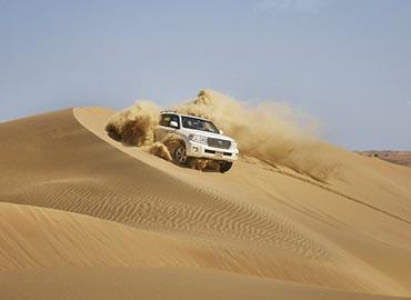 Evening Desert Safari Abu Dhabi