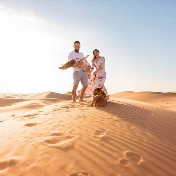 Discover the desert safari in Abu Dhabi