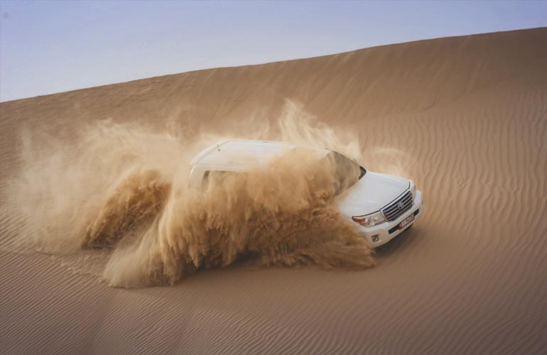 Private Desert Safari Special promo offer
